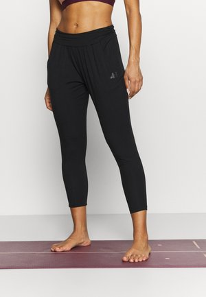 PANTS 7/8 LENGTH - Pantalones deportivos - black