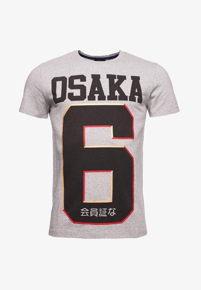OSAKA - T-shirt z nadrukiem - grey