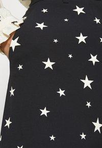 Fabienne Chapot - PUCK TROUSER - Trousers - black/warm white - 5