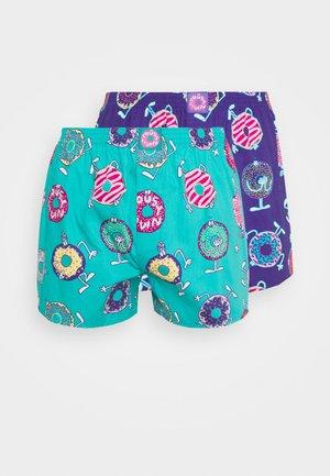 DONUT 2 PACK - Boxer shorts - jade/liberty