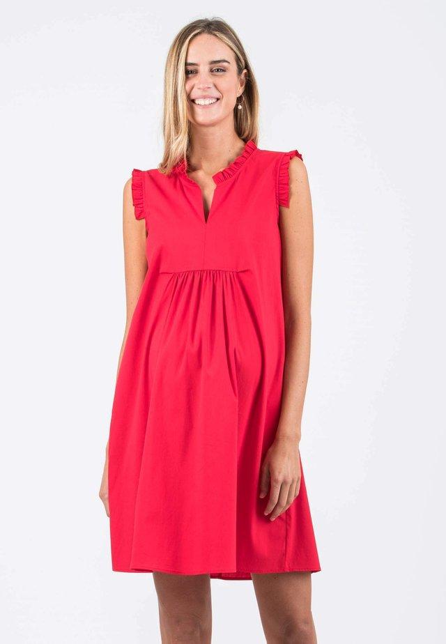 SOFIA - Korte jurk - red