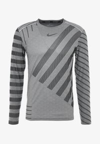 Nike Performance - TECH COOL - Funktionströja - grey fog/black/reflective silver - 5