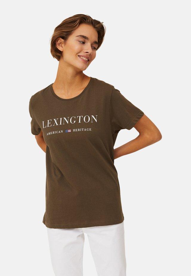 VANESSA  - T-shirts med print - green