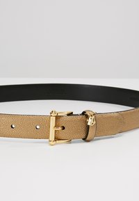 Lauren Ralph Lauren - BELT WITH SCULPTED - Belt - deep bronze - 4
