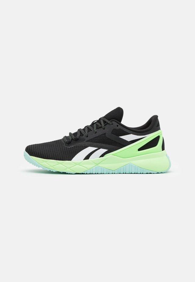 CIRCUIT TR - Scarpe da fitness - core black/neon mint