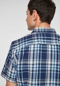 s.Oliver - Shirt - blue/white check - 4