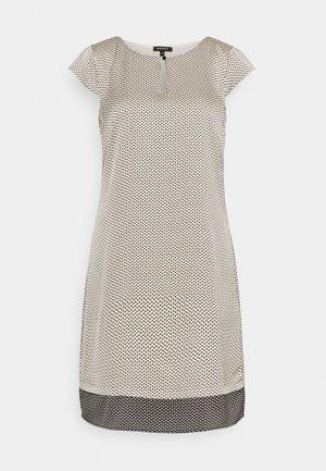 DRESS SHORT - Day dress - powder creme