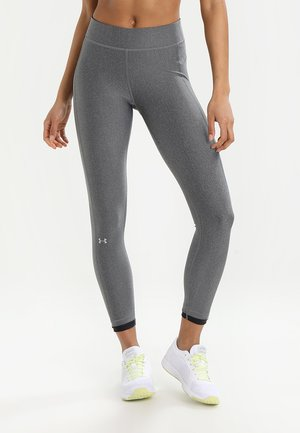 ANKLE CROP - Leggings - charcoal light heath