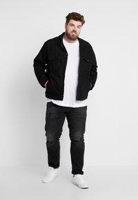 Jack & Jones - JJITIM JJORIGINAL - Jeans straight leg - black denim - 1