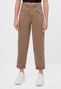 Bershka - Bukser - brown - 0