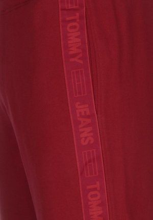 TAPE  - Tracksuit bottoms - winered