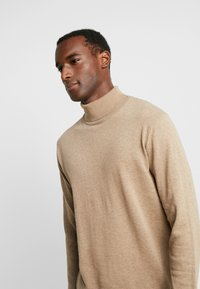 Selected Homme - SLHTOWER ROLL NECK  - Jumper - tuffet/melange - 4