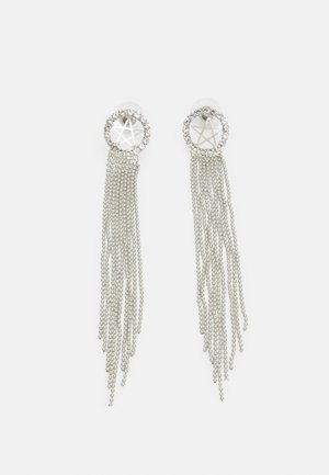 STATEMENT DROP EARRINGS - Kolczyki - silver-coloured