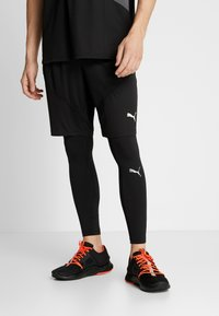 Puma - IGNITE LONG TIGHT - Tights - black - 3