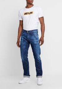 Replay - ROCCO - Straight leg jeans - dark blue - 0