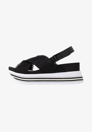 JIL - Platform sandals - black