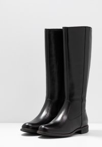 Anna Field - LEATHER BOOTS - Boots - black - 4