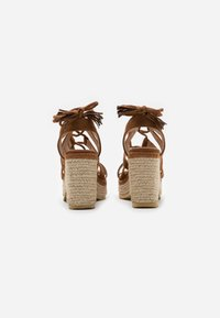 mtng - CAMBA - High heeled sandals - brown - 3