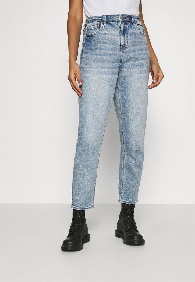 CURVY MOM - Jeans straight leg - medium vintage