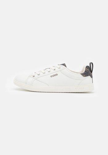 LAGUNA II - Trainers - white/brown