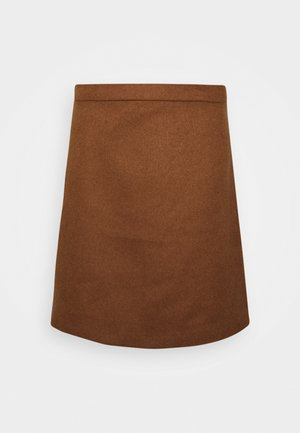 SKIRT - Mini skirt - toffee