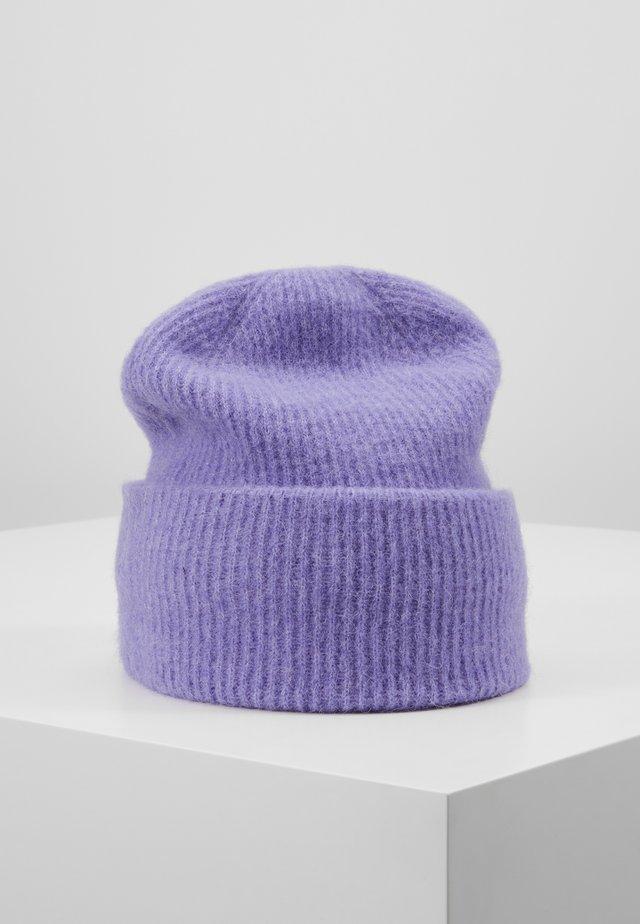 NOR HAT - Bonnet - aster purple melange