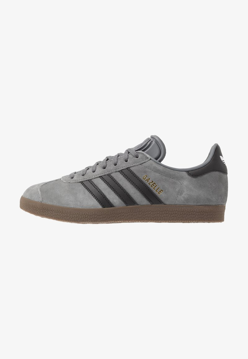 adidas Originals - GAZELLE - Sneakers basse - grey four/core black