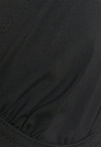 LASCANA - WIRE - Bikini top - black/white - 5