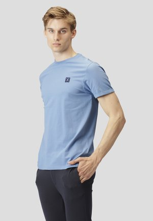 T-shirt basic - steel blue