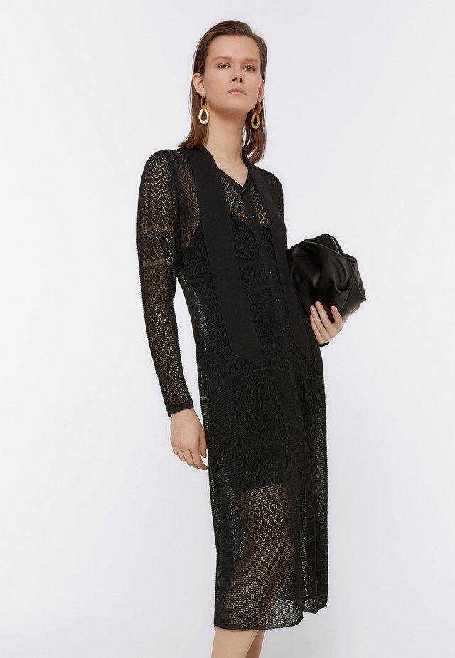 KAROROCK 00208450 - Gebreide jurk - black