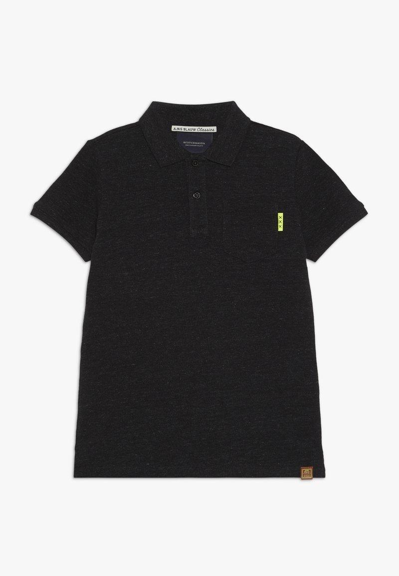 Scotch & Soda - GARMENT DYED - Polo shirt - antra melange