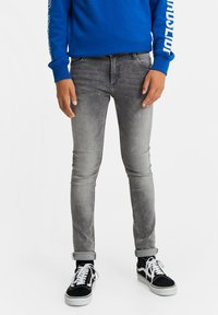 WE Fashion - Jeans Skinny Fit - grey - 0
