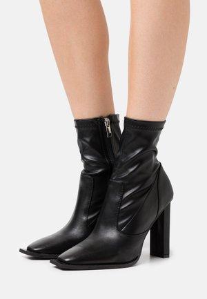 LAVINIA - High heeled ankle boots - black