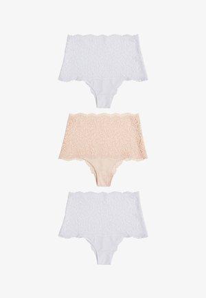 3PACK - Culotte - nude