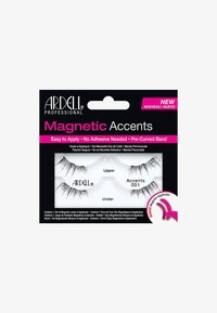 Ardell - MAGNETIC ACCENT LASH 001 - Kunstwimpers - - - 0