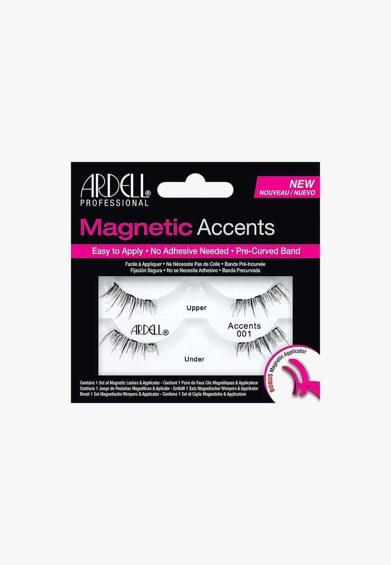Ardell - MAGNETIC ACCENT LASH 001 - Kunstwimpers - -