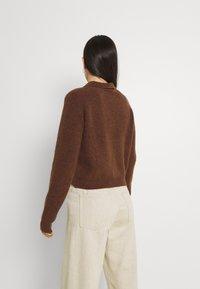 Monki - Jumper - brown dark unique - 2