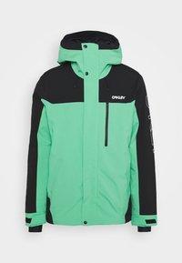 Oakley - Snowboard jacket - black/mint - 5