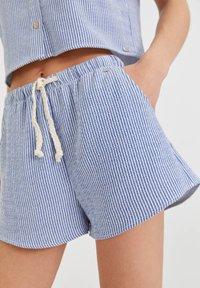 PULL&BEAR - Shorts - dark blue - 3