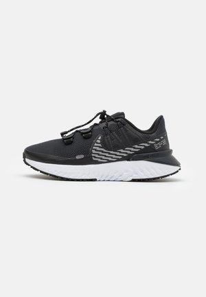 LEGEND REACT 3 SHIELD - Zapatillas de running neutras - black/metallic dark grey/off noir/white