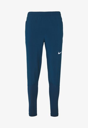 ESSENTIAL PANT - Tracksuit bottoms - valerian blue/reflective silver