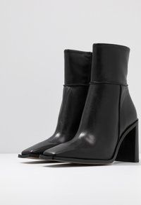 Topshop - HERO BOOT - High heeled ankle boots - black - 4