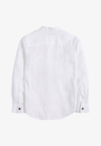 LONG SLEEVE TEXTURED (3-16YRS) - Košile - white
