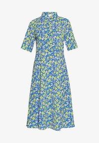 Nümph - NUAIDEEN DRESS - Skjortekjole - coast - 4
