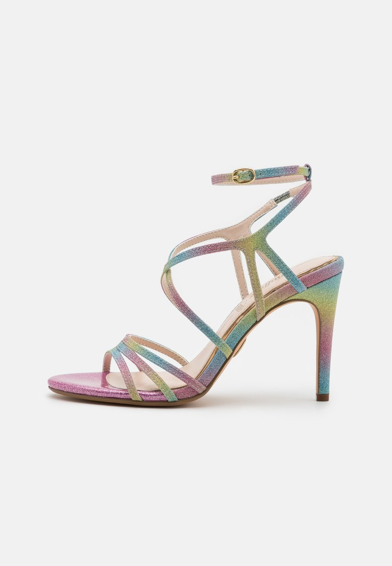 Buffalo - VEGAN RAVYN - High heeled sandals - rainbow