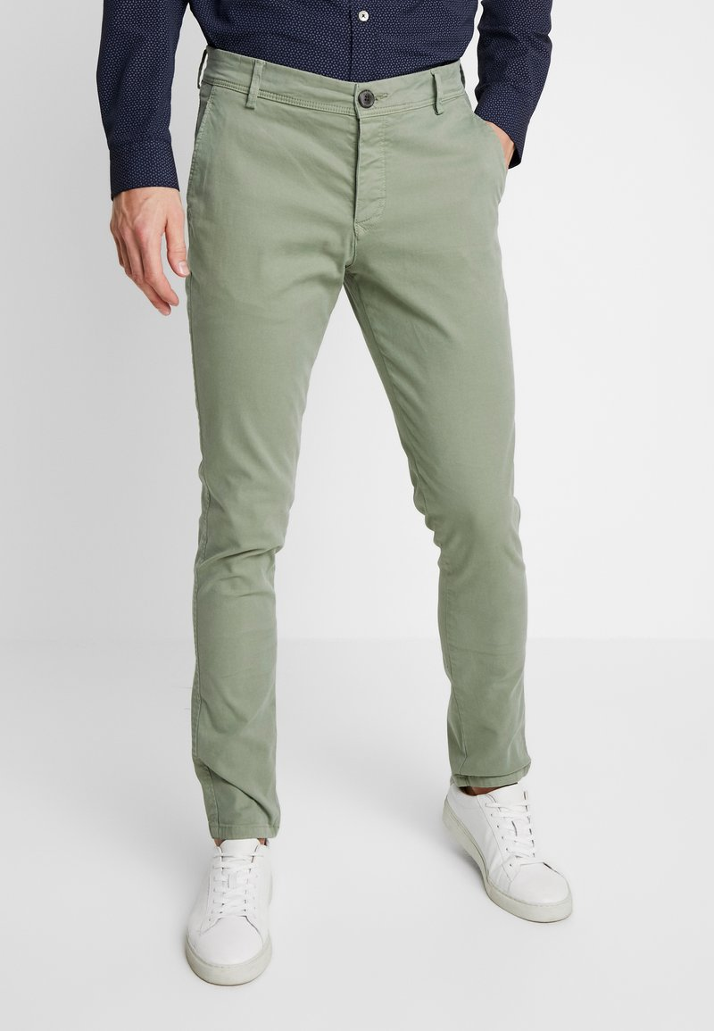 Selected Homme - LUCA - Chinos - sea spray