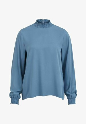 VIDANIA SMOCK - Blouse - captains blue