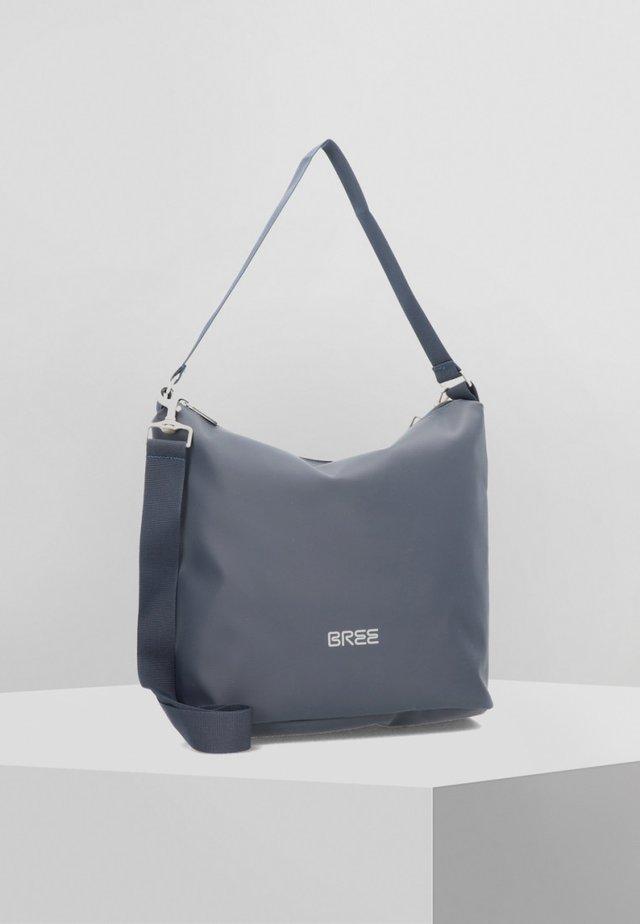 PUNCH 702 SCHULTERTASCHE 34 CM - Handbag - blue