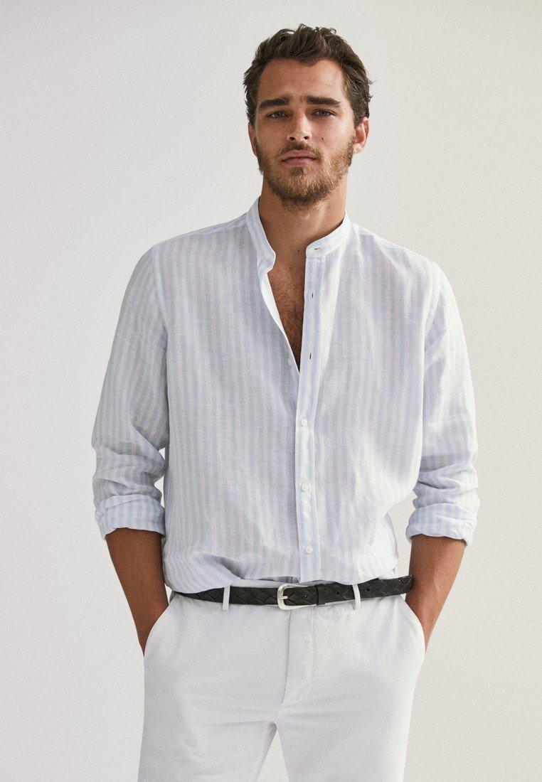 Massimo Dutti - Shirt - light blue