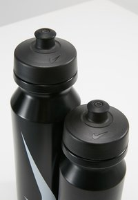 Nike Performance - BIG MOUTH BOTTLE COMBI 2 PACK - Bidon - black/black - 5